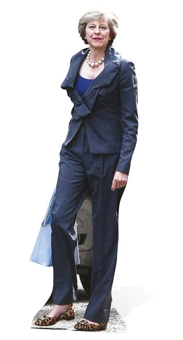Theresa May Cardboard Cutout - 1.7m