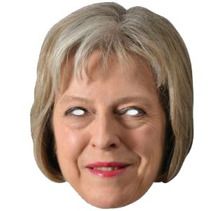 Theresa May Card Mask