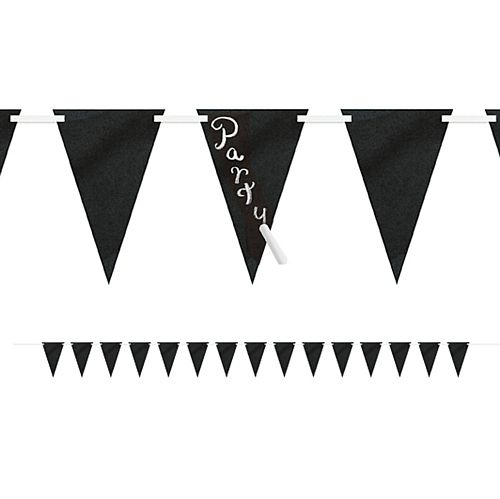 Chalk Flag Bunting Including Chalk - 2.75m