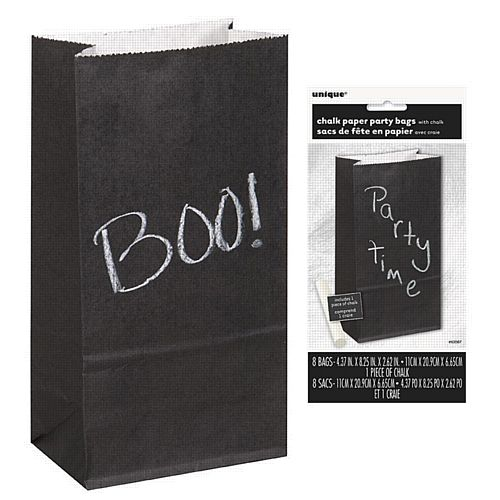 Chalk Paper Party Bag Including Chalk - Pack of 8