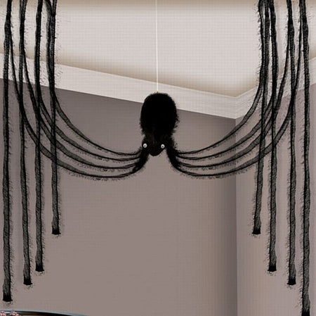 Large Fabric Spider Decoration - 1.9m
