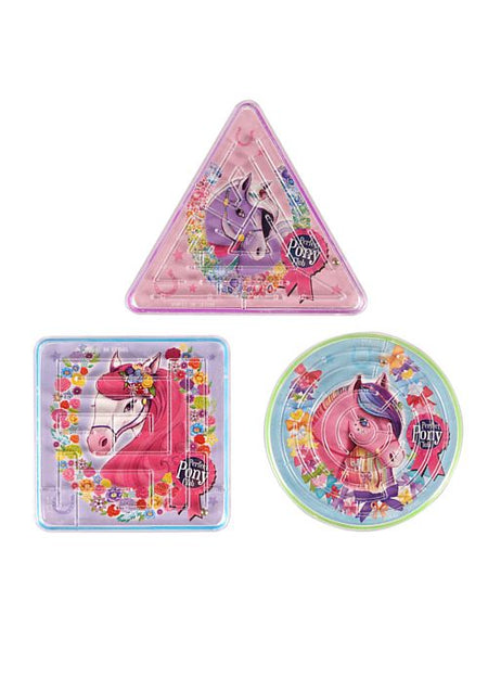 Pony Puzzle Maze - Assorted - Each