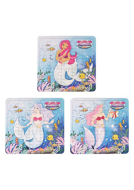 Mermaids Jigsaw Puzzle - 13cm - Assorted - Each