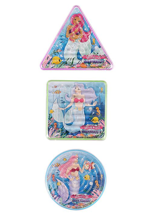 Mermaids Puzzle Maze - Assorted - Each