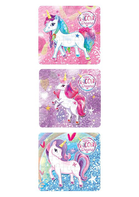Unicorn Jigsaw Puzzle - 13cm - Assorted - Each