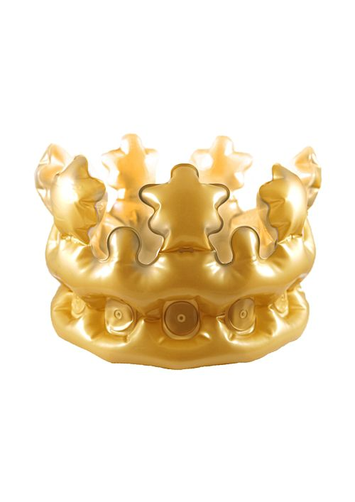 Inflatable Gold Crown - 33.5cm