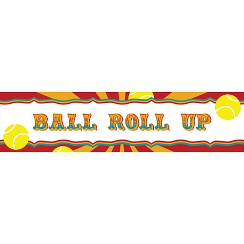 Fundraising Ball Roll Up Banner - 1.2m