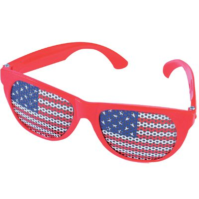 American USA Flag Glasses