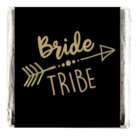 Bride Tribe Square Chocolates - Pack of 16