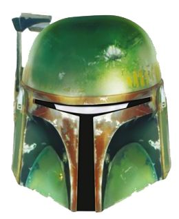 Star Wars Boba Fett Card Mask