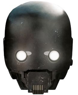 Star Wars K-2SO Card Mask