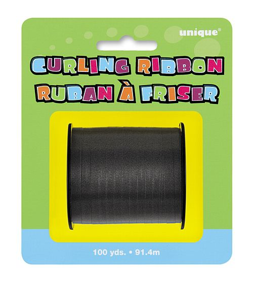 Black Curling Ribbon - 91.4m