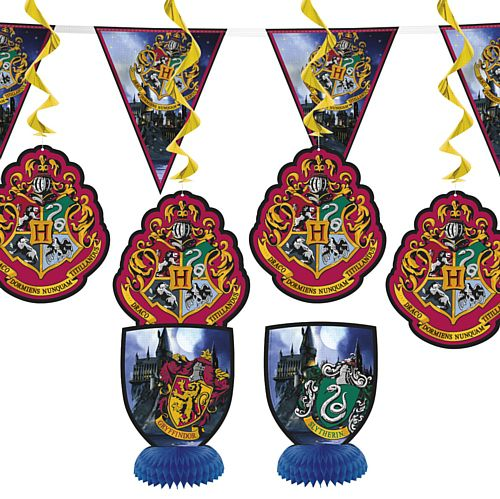 Official Harry Potter Decoration Kit - Pack of 7
