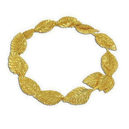 Gold Deluxe Leaf Headband