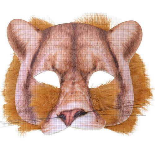 Realistic Soft Lion Mask
