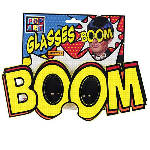 Pop Art Jumbo 'Boom' Glasses
