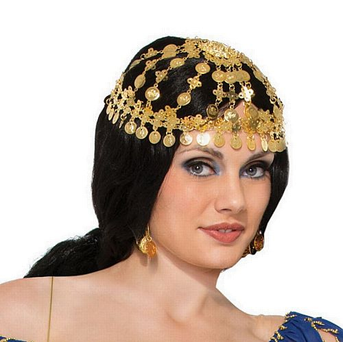 Desert Princess/Gypsy Coin Headpiece