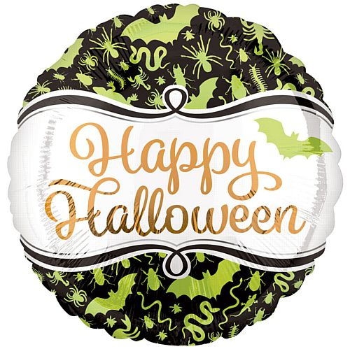 Halloween Creepy Critters Foil Balloon - 18""