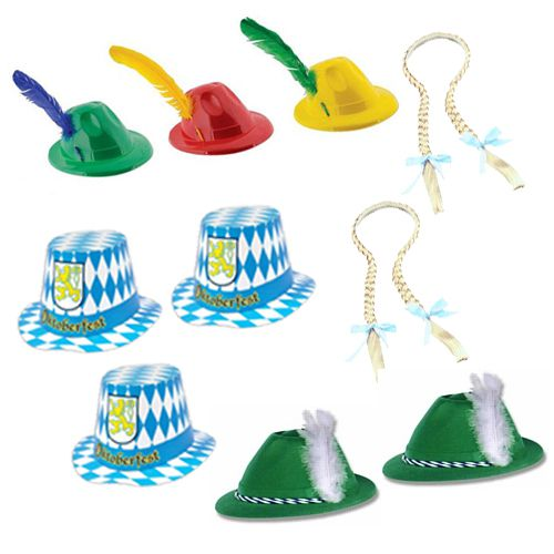 Oktoberfest Hat Pack for 10