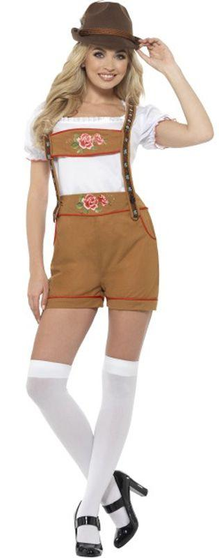 Sexy Bavarian Beer Girl Costume
