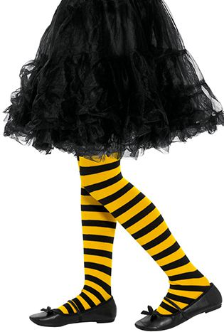 Bee Stripe Tights - Child's