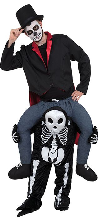 Piggyback Skeleton Costume
