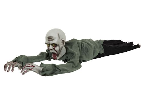 Crawling Zombie Prop With Sound