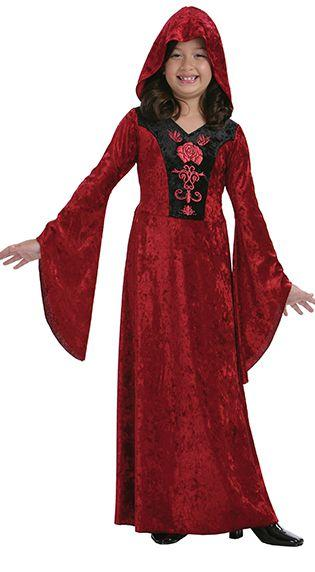 Children's Gothic Vampiress Costume