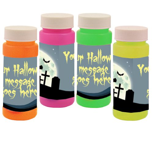 Personalised Bubbles - Haunted Graveyard - Pack of 6