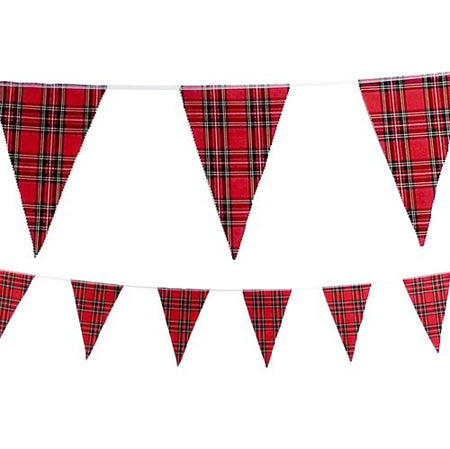 Royal Stewart Tartan Fabric Bunting - 8m