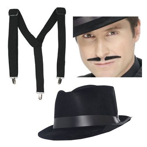 1920's Gangster Fancy Dress Kit