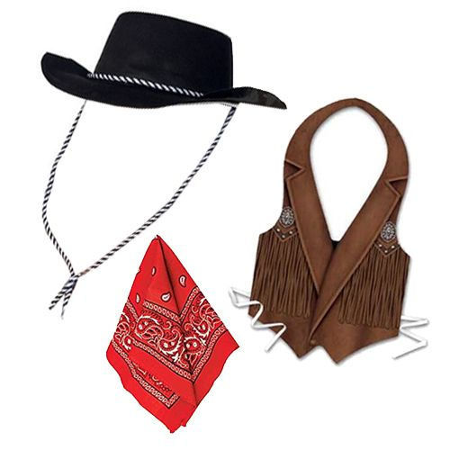Cowboy Fancy Dress Kit