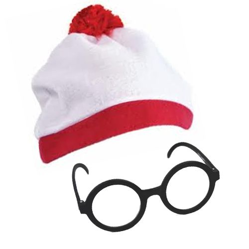 Where's Wally Fancy Dress Kit