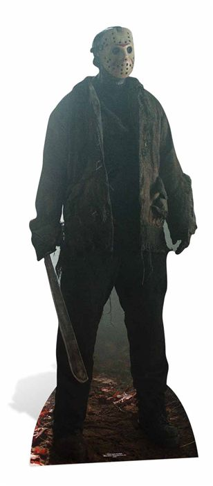 Jason Voorhees Friday the 13th Cardboard Cutout - 1.9m