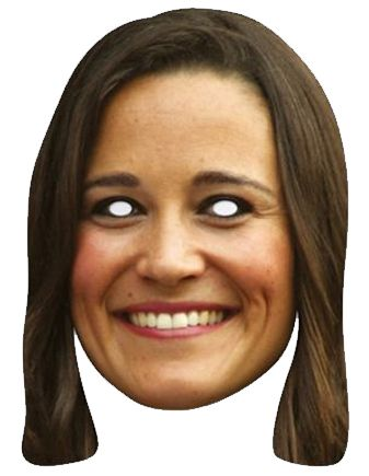 Pippa Middleton Card Mask