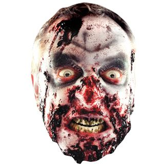 Gory Zombie Card Mask