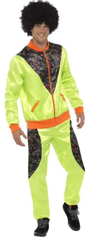 Retro Shell Suit Costume