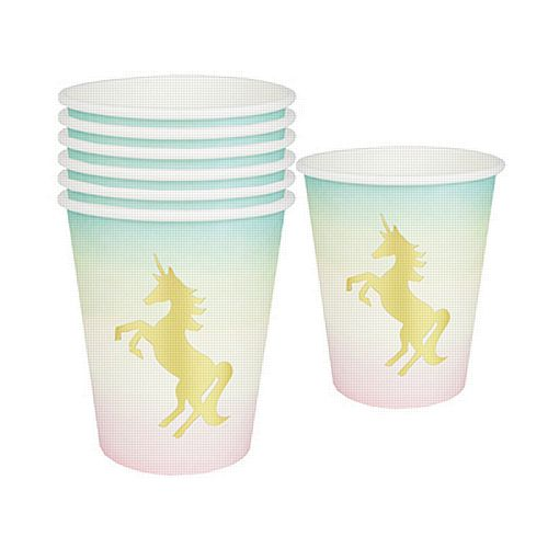 We Heart Unicorns Cups- Pack Of 12