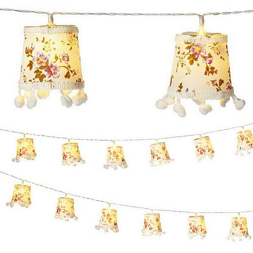 Truly Scrumptious Lampshade Lights - 1.5m