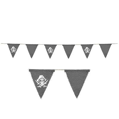 Pirate Fabric Bunting - 1.8m