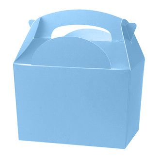 Light Blue Party Boxes - Pack of 250