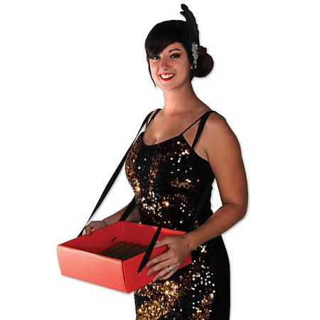 Click to view product details and reviews for Cigarette Girl Party Tray 33cm.