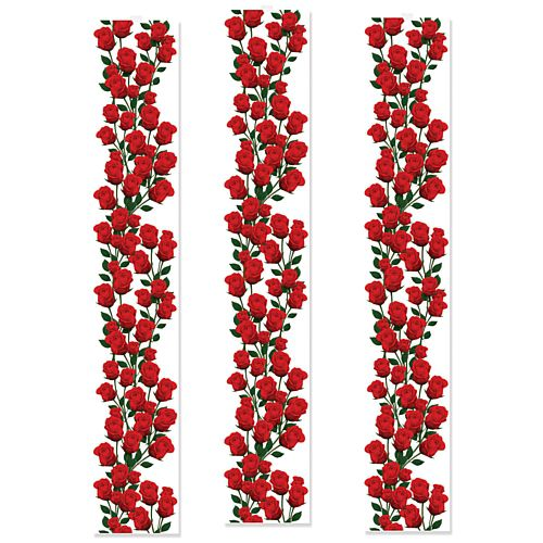 Roses Hanging Backdrop - 30.5cm x 1.8m