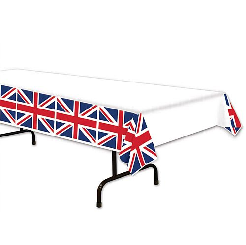 Union Jack Plastic Tablecloth - 2.7m