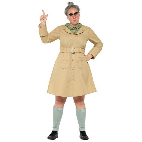 Adult Roald Dahl Miss Trunchbull Costume