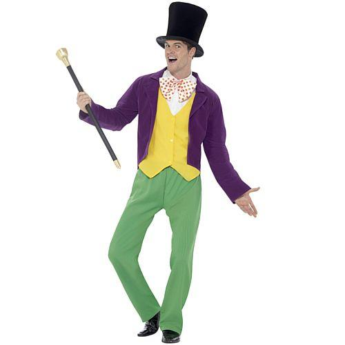 Adult's Roald Dahl Willy Wonka Costume