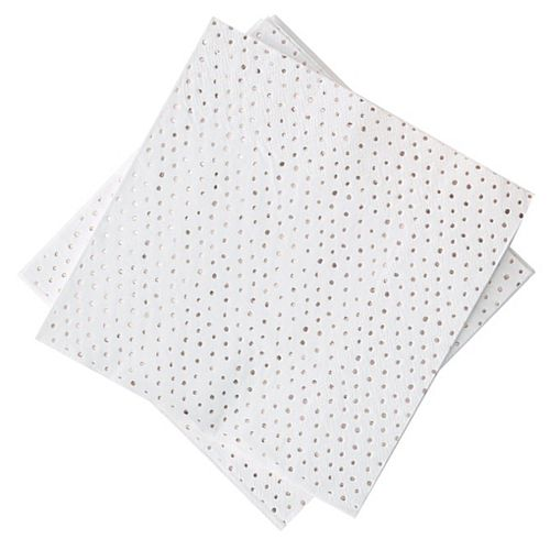 Rose Gold Foiled Spotty  Napkins - Pack of 16