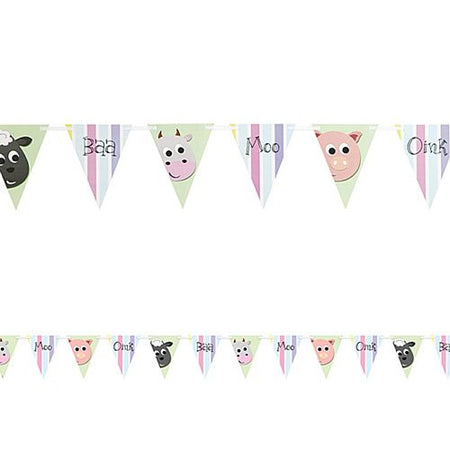 Click to view product details and reviews for Farmyard Party Bunting 27m.