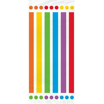 Rainbow Birthday CellopParty Bags - Pack of 20