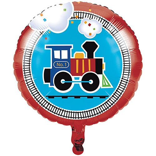 Toy Train Foil Balloon - 46cm